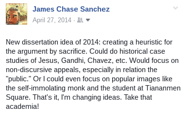 Blog – James Chase Sanchez, Ph D